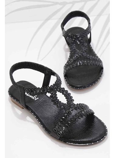 Bambi Spor Sandalet Siyah